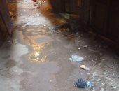 شكوى من غرق حارة بكر النوبى من شارع الخليل إبراهيم بعين شمس بالمياه