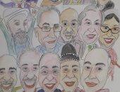 الملتقى العربى لرواد الكاريكاتير يصدر كتابا عن الكاريكاتير يواجه كورونا