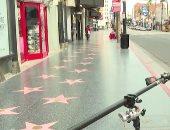 زمن كورونا.. معالم لوس أنجلوس الشهيرة خالية وهوليوود مدينة أشباح.. فيديو وصور