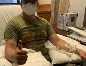 بعد تعافيه من كورونا.. أمريكى يتبرع بالبلازما لصالح مرضى آخرين