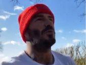 """ديفيد بيكهام يحارب كورونا بالجرى.. ورونالدو أول المشجعين ..""""فيديو وصور"""""""