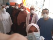 ارتفاع عدد المتعافين من فيروس كورونا بمستشفى العجمى إلى 44 حالة