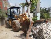 حملات إزالة للتعديات على الأراضى الزراعية بالشرقية ورفع 150 ألف طن قمامة (صور)