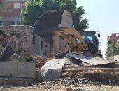محافظة القاهرة: عشش السكة الحديد بالهايكستب تعديات على أملاك الدولة