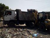 حملة مكبرة لرفع تراكمات القمامة بحى ثان طنطا.. صور