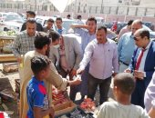 تحرير 5 محاضر متنوعة فى حملات تموينية على أسواق قرية الدير جنوب الأقصر