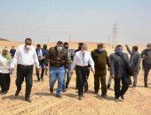 صور.. محافظ المنيا يقود حملة مكبرة لاسترداد أملاك الدولة