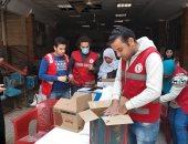 تضامن الغربية تدعم الأسر الفقيرة بقرية الهياتم بـ4 آلاف كرتونة سلع غذائية