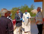 صور.. إجراء كشف طبى على أسر انتقلت لشمال سيناء خلال الأيام الأخيرة
