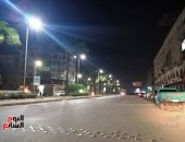 بدء الإغلاق الجزئى لشارع الأهرام لنقل المرافق المتعارضة مع مسار المترو