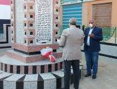 50 عاما على مذبحة بحر البقر.. وضع زهور على نصب الشهداء دون احتفال.. صور