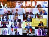 صور.. بدء اجتماع الحكومة الأسبوعى عبر الفيديو كونفرانس