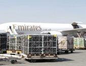 صور.. مصدر بالشحن الجوى: مصر تمد الخليج وأوروبا بـ 150 طن خضار وفاكهة وسمك منذ تعليق الطيران