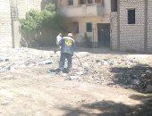 """استجابة لـ""""سيبها علينا"""".. الرصد البيئى: رفع المخلفات بالإسكندرية"""