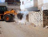 التنمية المحلية: إزالة فورية لـ 11 مقبرة على أرض ملك للدولة فى دمياط