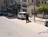 """استجابة لـ""""سيبها علينا"""".. رفع القمامة من شارع البيطاش بالعجمى محافظة الاسكندرية"""
