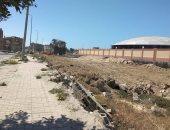 مجلس مدينة العريش ينفذ حملة نظافة بمحيط محطة المياه .. صور