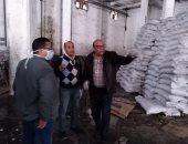 صور ..تحرير 42 محضر مخالفة فى جولة على مخازن السلع الاستراتيجية بالإسكندرية