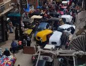 قارئ يشكو استمرار زحام المواطنين بسوق شيبن الكوم فى المنوفية
