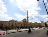 صور.. مسجد السيدة زينب يغلق أبوابه تطبيقاً لقرار الغلق