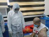 نجاح فريق طبى عراقى فى اسئصال ورم سرطانى من مصاب كورونا.. صور