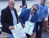 مطار القاهرة يستقبل شحنة مستلزمات طبية من الصين لصالح وزارة الصحة.. صور