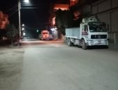بشوارع خالية.. قارئ يرصد حالة الشوارع وقت الحظر بديروط فى أسيوط