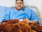 لاعب حرس الحدود يغادر المستشفى عقب إجراء جراحة الصليبى