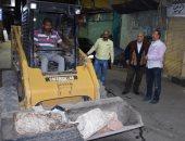 صور.. حملات نظافة وتعقيم بشوارع الأقصر خلال حظر التجوال