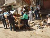 إزالة سوق ستوتة ببورسعيد وفض 5 أسواق وتطهير شوارع أولاد سيف بالشرقية