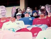 فريق في بيلاروسيا يشجع لاعبيه بجماهير افتراضية للتغلب على كورونا