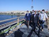 وزير النقل يتابع أعمال تنفيذ محور سمالوط بالمنيا ويؤكد: افتتاحه يونيو المقبل