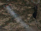 شاهد.. حرائق غابات تشيرنوبل من الفضاء