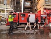 حفظ التحقيق حول واقعة حريق عقار فى مدينة نصر لعدم وجود شبه جنائية