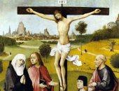 """100 لوحة عالمية.. """"صلب المسيح"""" لـ """"بوش"""" صورة يسوع تجسيدا للرحمة"""