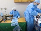 مستشفيات جامعة عين شمس تبدأ تصنيع المستلزمات الوقائية للأطباء والتمريض