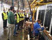 وكيل القوى العاملة بالشرقية يتفقد مصانع العاشر ويجرى مسح حرارى لـ3066 عامل