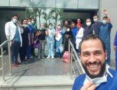 مستشفى إسنا للعزل الصحى تعلن شفاء وخروج 6 حالات من فيروس كورونا فجرا