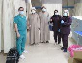 نجاح جديد بمستشفى إسنا للحجر الصحى.. خروج 3 حالات بعد شفائهم من فيروس كورونا