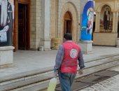 إجراءات جديدة من مطرانية الأرثوذكس بسوهاج لمواجهة الموجة الثانية من كورونا