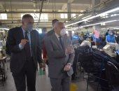 محافظ بورسعيد يتفقد عددا من المصانع بمنطقة الاستثمار وجمعية الكمبراتيف