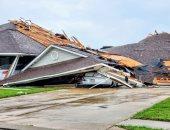 صور ..إعصار مونرو فى مسيسبى ولويزيانا يدمر طائرات وسيارات ومبانى