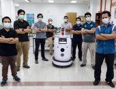 مراحل تجميع روبوت ماليزى لفحص المصابين بكورونا منعا لعدوى الأطباء .. صور