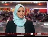 أول مذيعة مصرية محجبة فى BBC تعلن إصابتها وزوجها بكورونا على الهواء.. فيديو