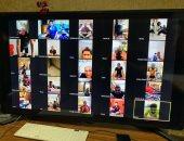 صور.. جهاز الطلائع يتابع تدريبات اللاعبين عبر الفيديو كونفراس
