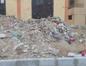 تهالك للأسفلت وقمامة.. شكوى سكان شارع المنتزة بحدائق أكتوبر