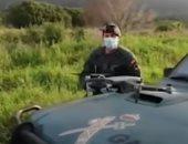 فيديو.. الشرطة الإسبانية ترصد مخترقى حظر التجول عبر طائرة الدرون