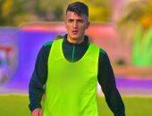 فيديو.. محمد سليم لاعب الحرس يخوض التدريبات بعد التعافى من الرباط الصليبى
