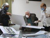 صور .. محافظ جنوب سيناء يؤكد استمرار العمل بالمشروعات القومية والتنموية