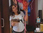 رسالة رومانسية من أشرف زكى إلى زوجته الفنانة روجينا في عيد ميلادها..صور